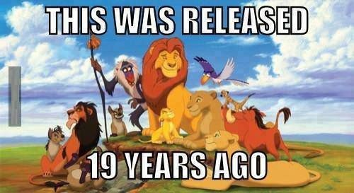 Wow, we really do feel old now!