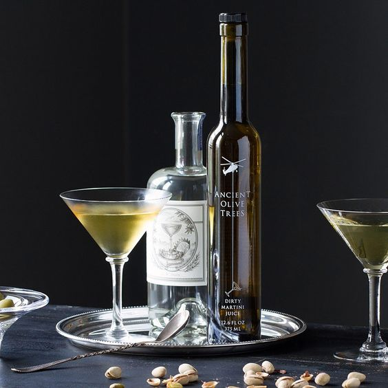Barrel Aged Dirty Martini Elixir