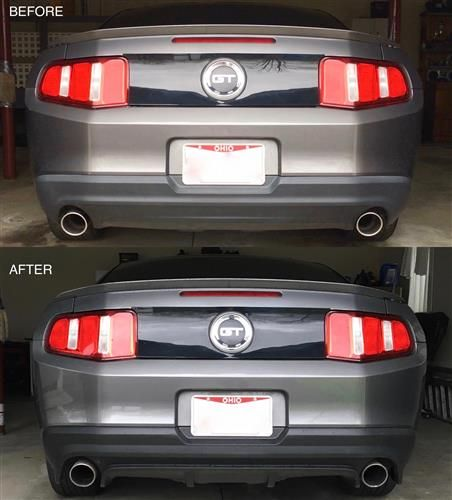Add Some Extra Styling To The Rear Of Your 2010 2012 Ford Mustang With This Gt500 Boss 302 Rear Bumper Valance Mustang Gt500 2012 Ford Mustang Mustang