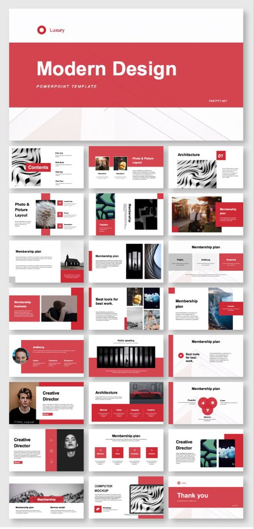 Annual Report Business Plan Powerpoint Template