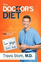 Food list for The Doctor's Diet (2014) by Dr. Travis Stork: an unprocessed, moderate-portion diet in 3 stages. Low in sugar, simple carbohydrates, unhealthy fats, and sodium. Moderate amounts of lean protein, healthy fats, and whole grains. Generous amounts of fiber-rich vegetables, legumes, and fruits. Real foods, not processed foods. Meal Plan Equations for each phase, allowing for flexibility in eating guidelines.