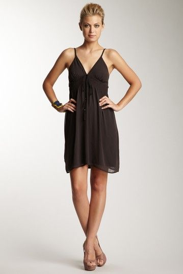 Harper Slip Dress with Trim Detail