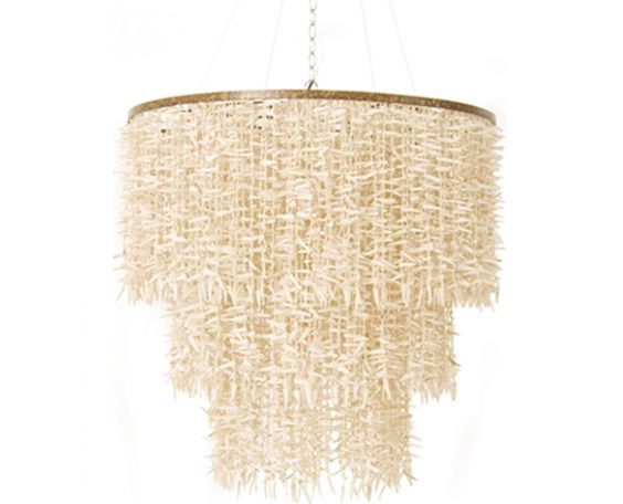 Coco Bead Winter White 3 Tier Chandelier Hanging Lamps Weylandts Australia House Britz Pinterest Chandeliers And Lights
