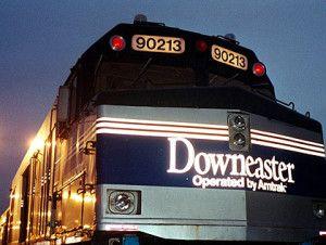Amtrak's Downeaster runs between Brunswick, Maine and Boston, Massachusetts.