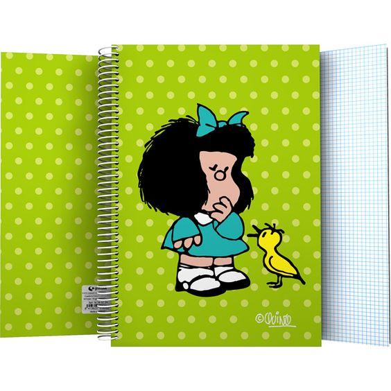 MAFALDA Cuadernos escolares#vueltaalcole#backtoschool