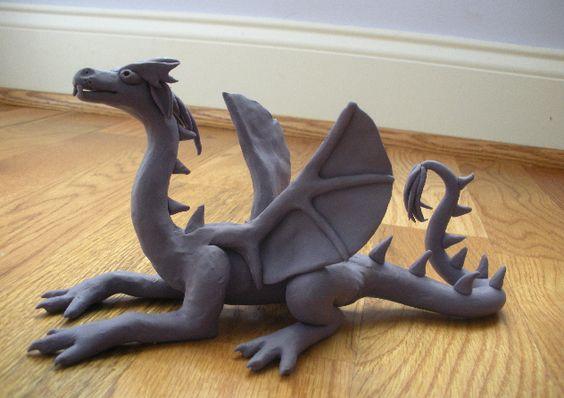 Clay Dragon Lesson