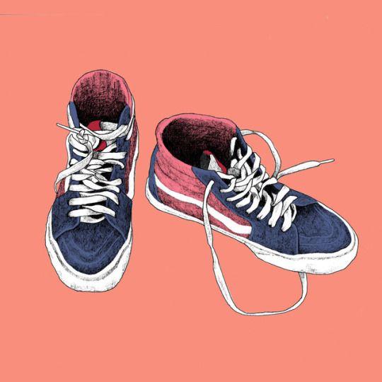 Your Weekly Art Fix By Sophia Drevenstam Sneakers Illustration