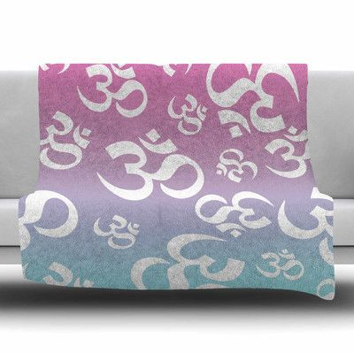 KESS InHouse OHM My Pastels Fleece Blanket