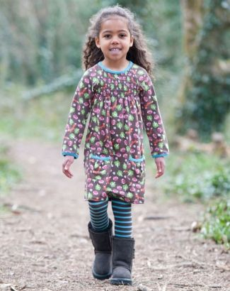Woodland Friends Dress- Frugi organic clothing