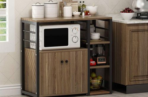 top 10 best rolling microwave carts