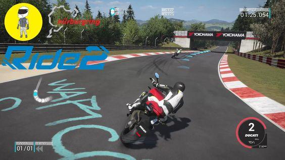 Ride 2 - Ducati Monster 1200 S @ Nürburgring Nordschleife [GTX970 | Elgato]