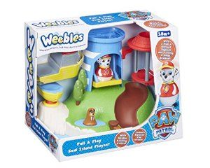 """Weebles Paw Patrol 06114 """"Pull and Play Seal Island"""" Playset: Amazon.co.uk: Toys & Games"""