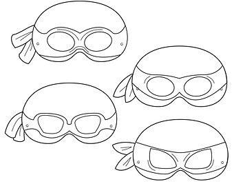 It's just a photo of Refreshing Ninja Turtle Masks Printable