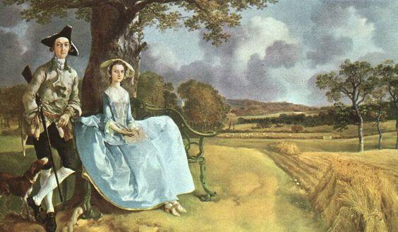 Thomas Gainsborough Mr Mrs Andrews 1750