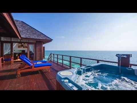 Prestige Jacuzzi Water Villas Accommodation Olhuveli Beach