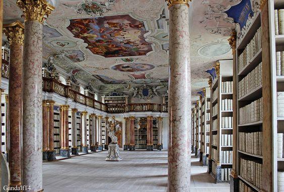 Die Klosterbibilothek Ottobeuren
