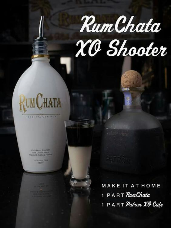 Rum Chata, Patron XO Cafe