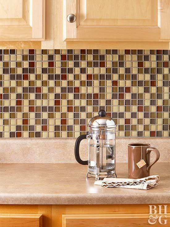 Update Your Kitchen With A New Backsplash Diy Kitchen Backsplash Diy Tile Backsplash Diy Backsplash