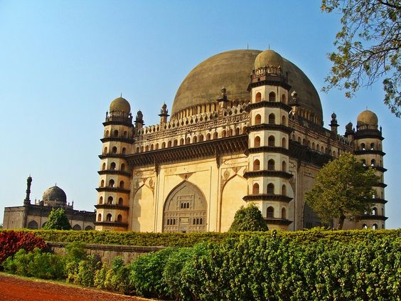 Gol Gumbaz Bijapur - The Second Largest Dome In The World - Karnataka - India