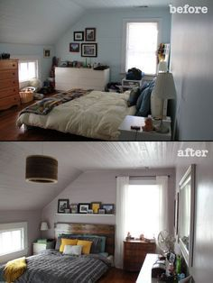 Here are 7 helpful tips on how to rearrange your bedroom!                                                                                                                                                      More