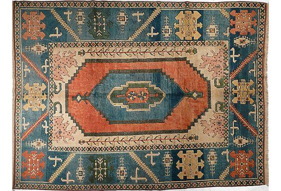 "Turkish Sultanhan, 8'1""x 10'8"" from Pak Oriental Rugs, San Francisco, on One Kings Lane, Sale ends 6/9."