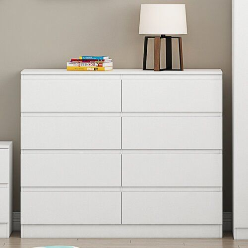 Francine 8 Drawer Chest Sliding Door Wardrobe Designs Chest Of Drawers Drawers