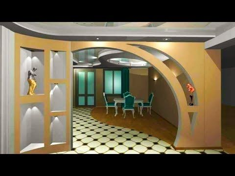 Pop Arches Designs Between Rooms Instead Of Doors Are A Modern Solution For The Visual Expansio House Ceiling Design Pop Design For Hall Modern Houses Interior