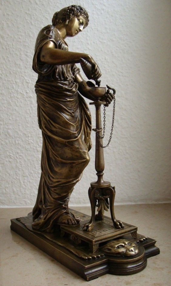 Dumaige Frankreich Um 1900 Antiquitäten & Kunst Bronzefigur Büste Bronze 2 Figuren Paar Gruppe Von H