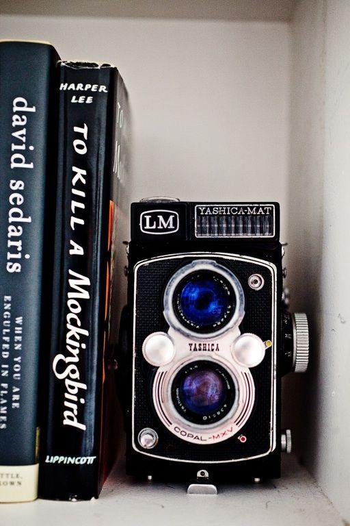 vintage Yashica Mat camera