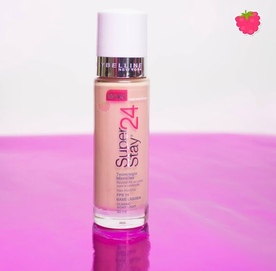 Resenha da base Superstay 24h Maybelline.