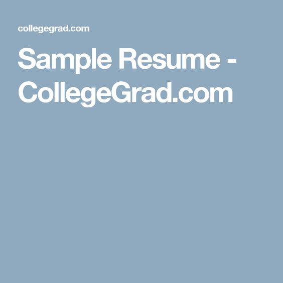 Sample Resume - High School Student - Academic Jared Pinterest