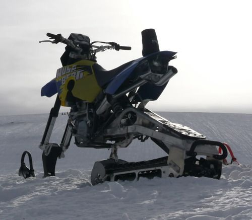 xprmntlgarage:  Husaberg Turbo Snow Bike