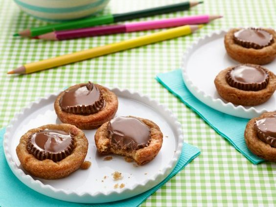 Back to School Treats: Chocolate-Peanut Butter Cup Cookies #BackToSchool
