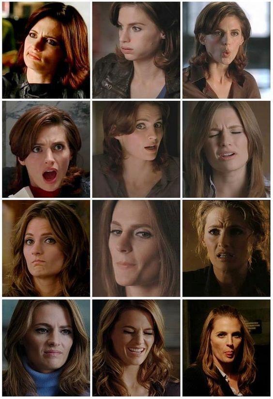 Stana's facial expressions!!