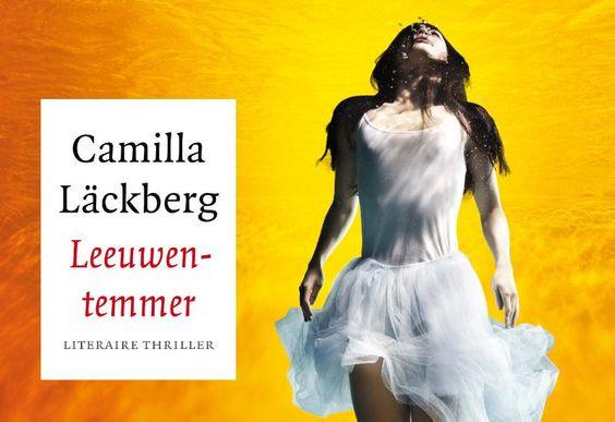 """""""Leeuwentemmer"""" van Camilla Läckberg ligt al even te lonken om gelezen te worden, maar ik bewaar hem voor New York!"""