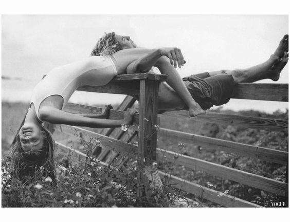 Angela lindvall - Bruce Weber, Vogue, May 1998