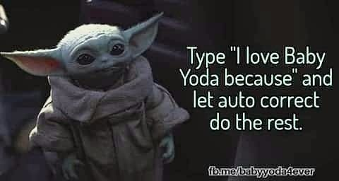 Baby Yoda On Instagram Let The Games Begin Only A Few Hours Left Of Our V Day Sale 20 Use Code Clanoftwo Link In In 2020 Yoda Meme Star Wars Memes Relatable Meme