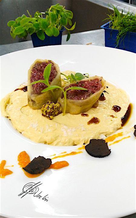 Royal de foie y canel n de boletus recetas de foies for Corzo con patatas