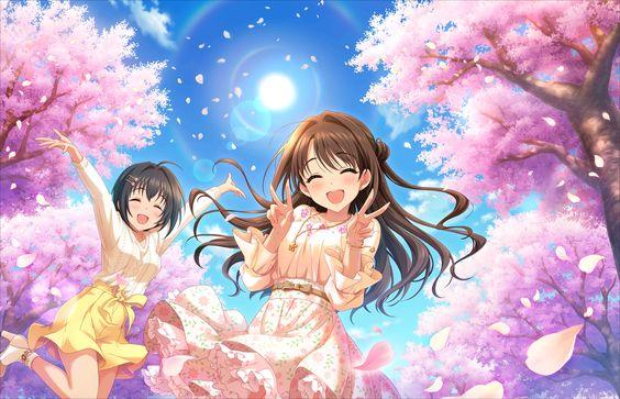 島村卯月と桜の木