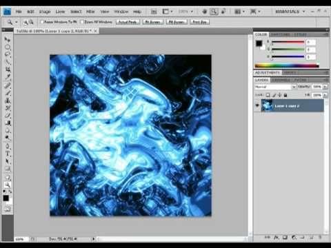 Photoshop Wave Design Tutorial