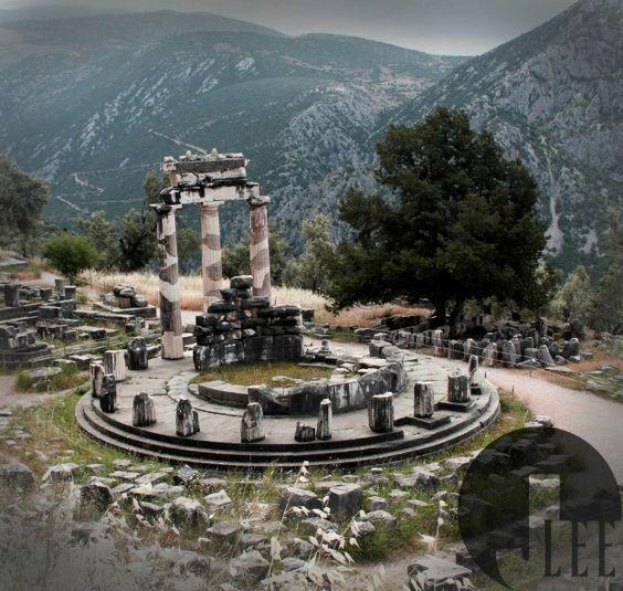photographer J.LEE  #Delphi #Greece