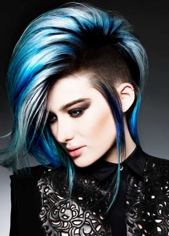 Synergistic Punk by Hooker & Young | See the rest of this #edgy collection at salonmagazine.ca: