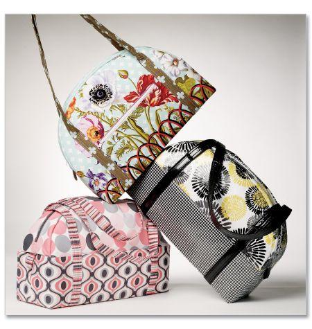 Patron de couture, sacs, Mccalls, 6532