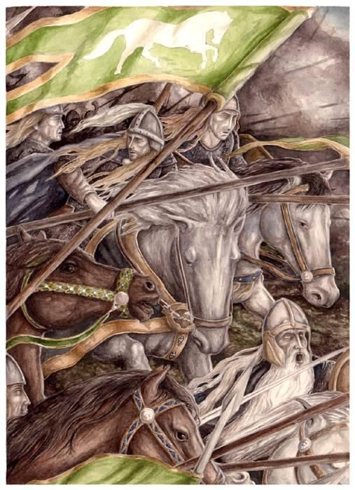 The Ride of the Rohirrim by peet