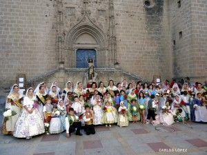Ofrende de flores a Sant Joan, Jávea / Xabia