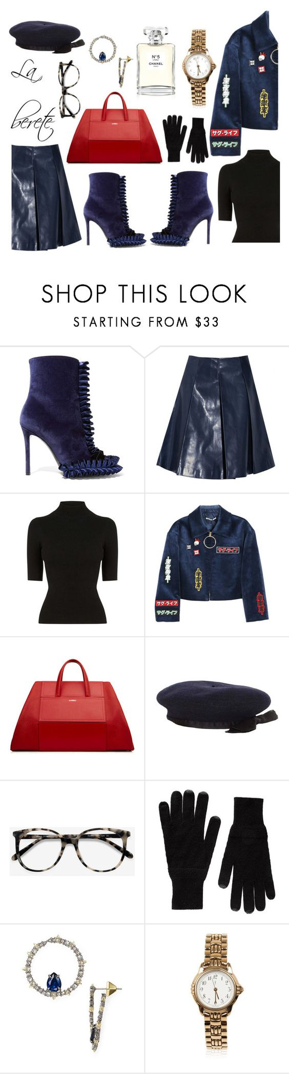 """Untitled #796"" by adda21 ❤ liked on Polyvore featuring Marco de Vincenzo, Versace, Oasis, Hyein Seo, Chanel, Ace, Splendid, Alexis Bittar, Yves Saint Laurent and versace"