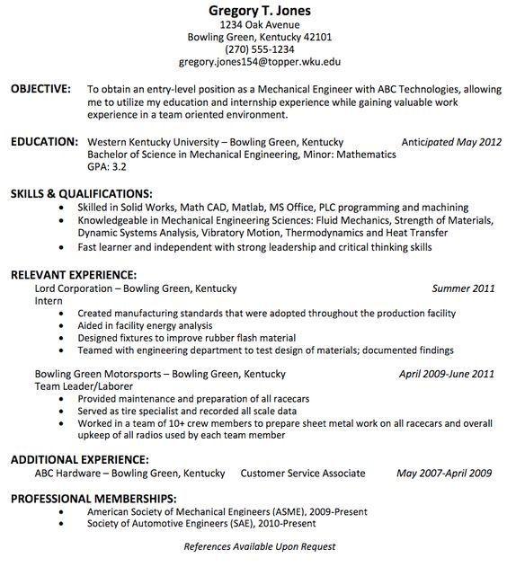Civil Engineer Resume Quora Engineering Resume Templates Engineering Resume Civil Engineer Resume