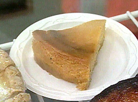 Sweet Potato Cheesecake with a Pound Cake Crust