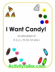 Worksheets Collect The Pictures That Begin Ch And Sh i want candy this articulation game r s z th sh ch j and l targets in all positions has students collecting kinds of there