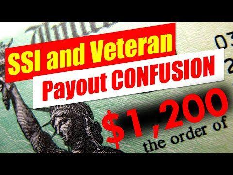 1 200 Stimulus Ssi And Veterans Explained Youtube Ssi Veteran Money Management